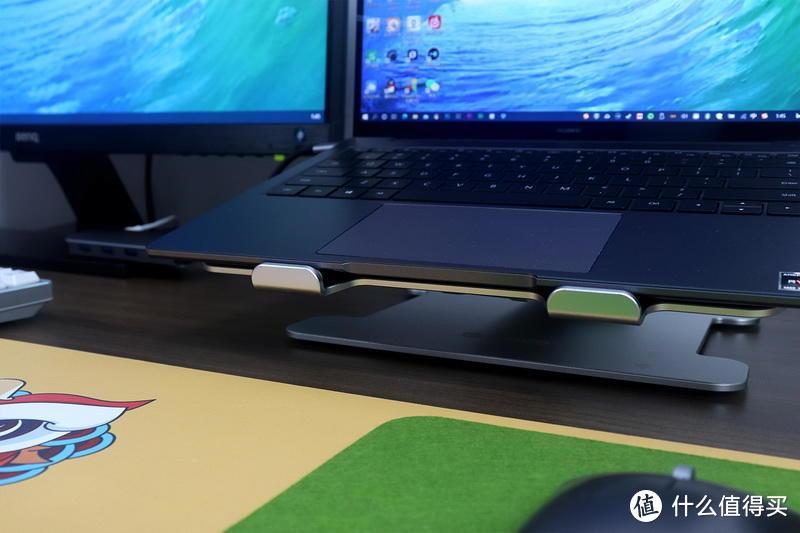 双屏桌面,拒绝低头:ORICO笔记本增高折叠支架体验