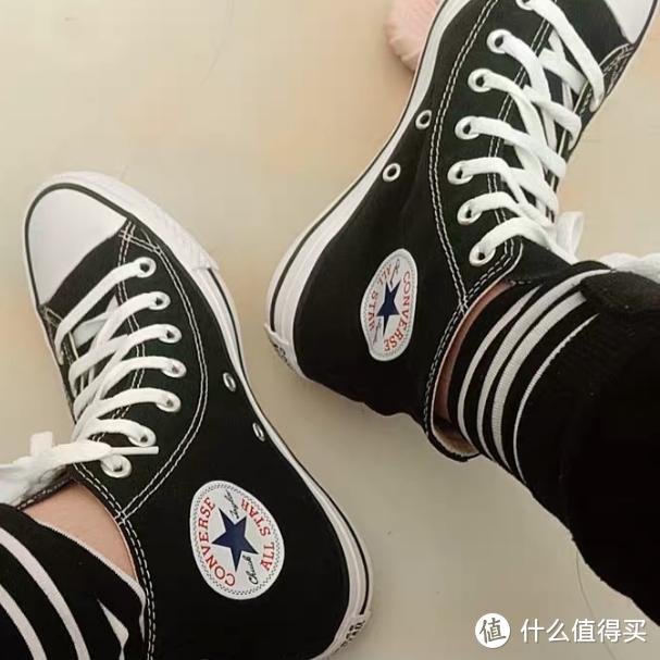 日常百搭不磨脚,亲测匡威高帮帆布鞋