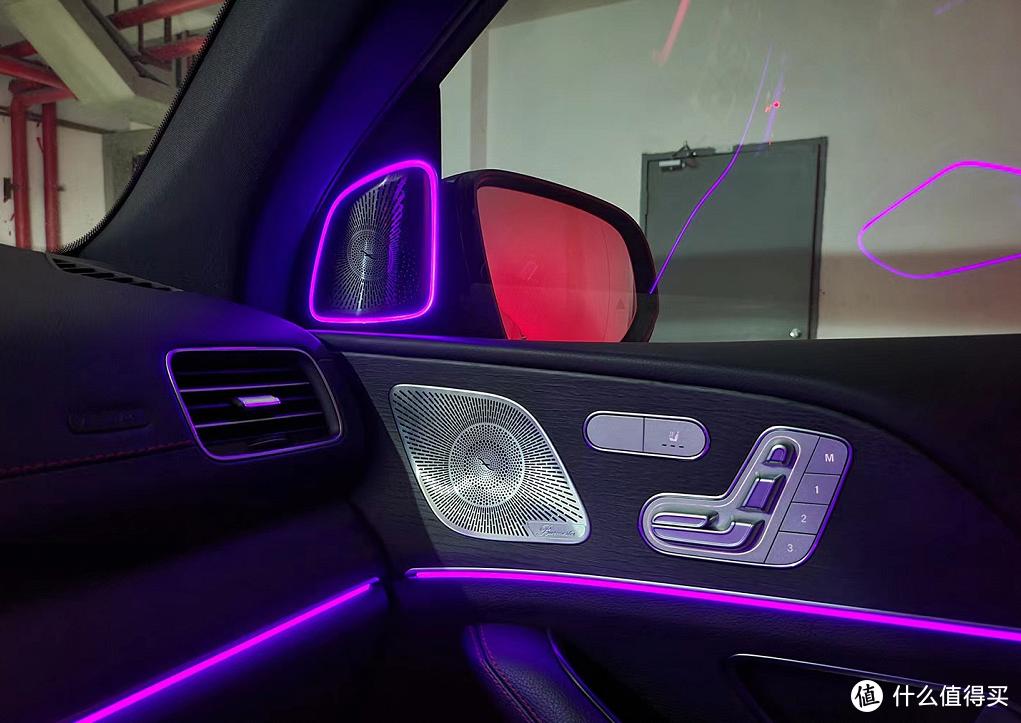 奔驰新款GLE53改大柏林之声音响,打造天籁之音