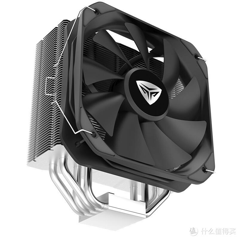 超频三发布EX4000 CPU风冷散热器:纯铜镀镍、标配PF130风扇