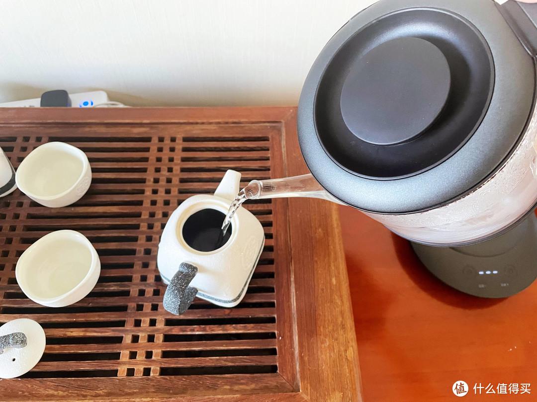 小家电带来的幸福感:入一理想冲泡静音恒温电水壶使用体验