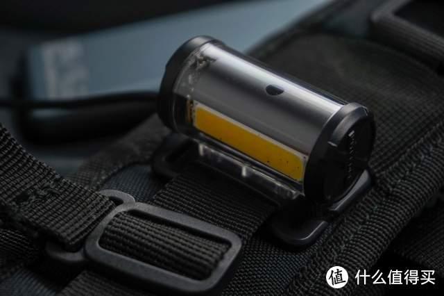 背包灯还带重力感应系统?是把戏还是实力,奈特科尔CU10背包灯