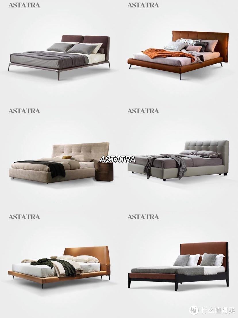 装修灵感 私藏36款小众高颜值床 简约现代设计