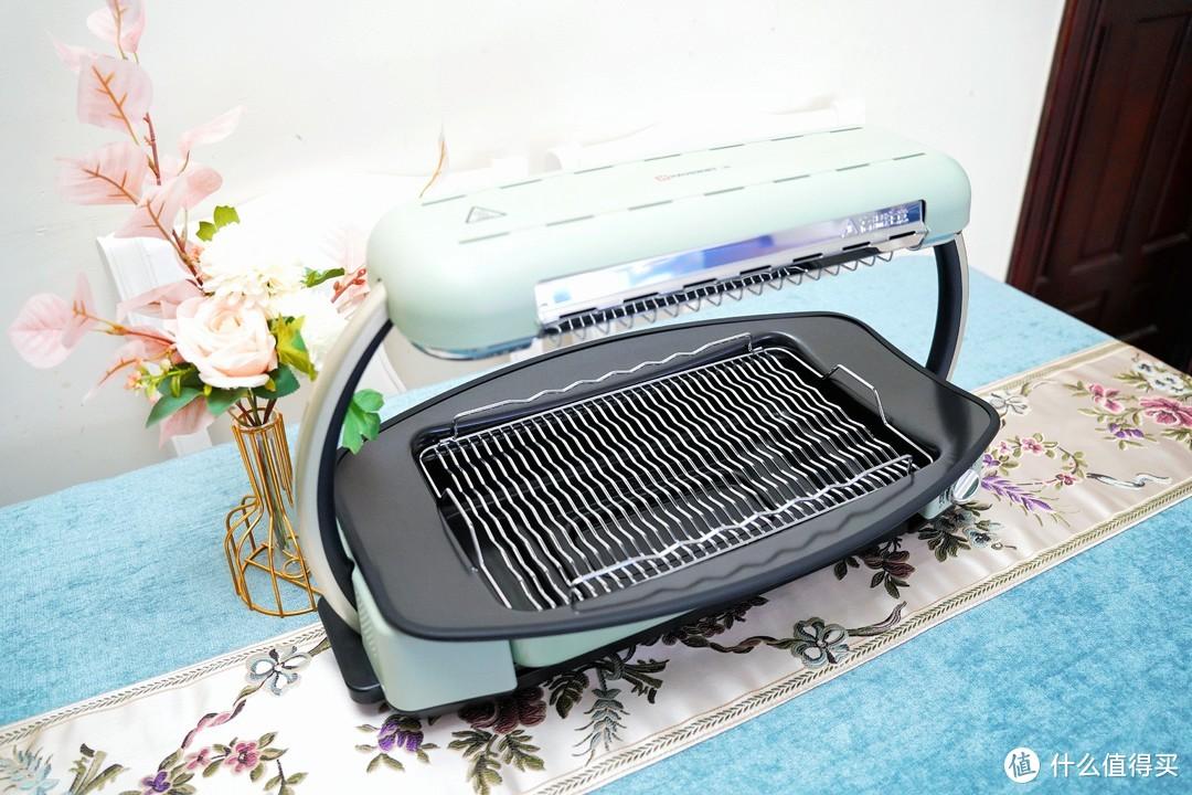 满足你对家庭烧烤的所有需求——海氏V6无烟快烤炉使用体验