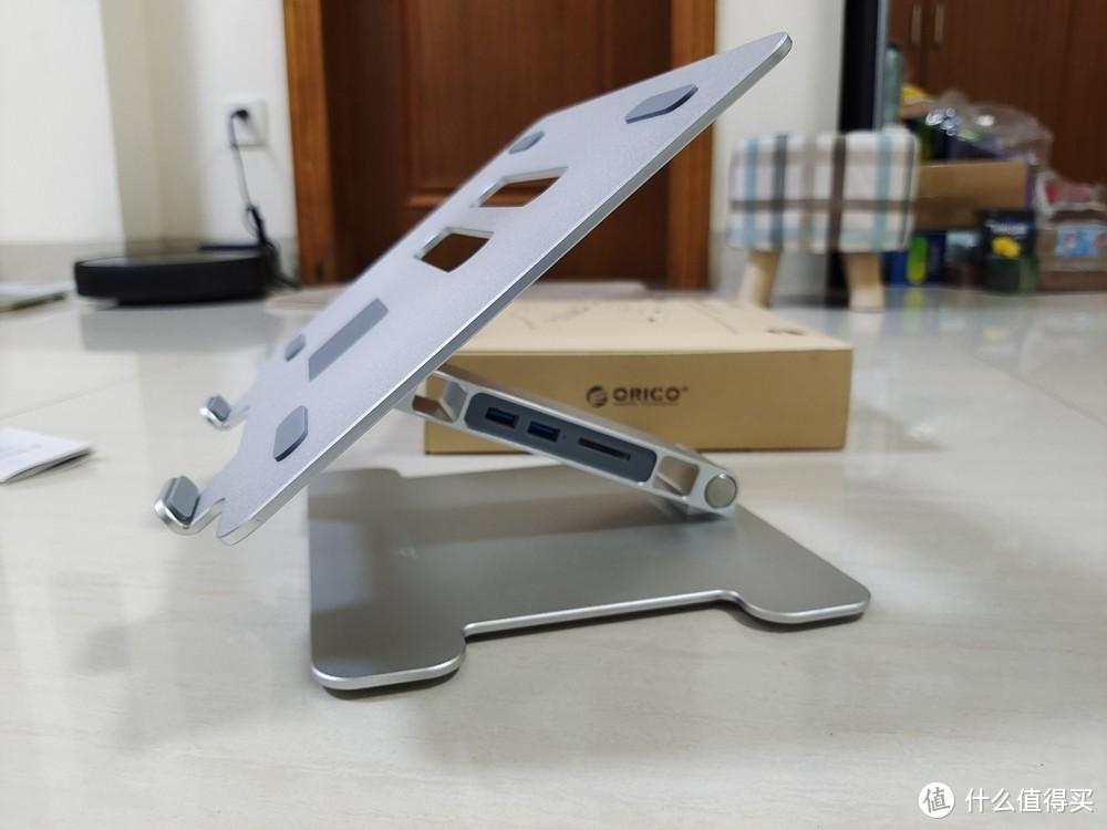 笔记本的好搭档,一款具备拓展坞功能的笔记本支架