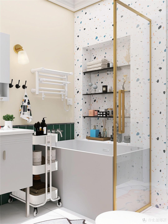 法式复古绿|洗漱如厕都变得很美好