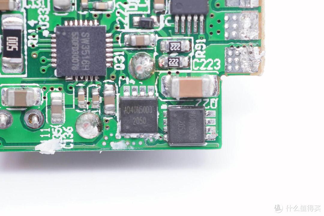 拆解报告:ROCK洛克65W 2C1A超级硅快充充电器JWD65-01