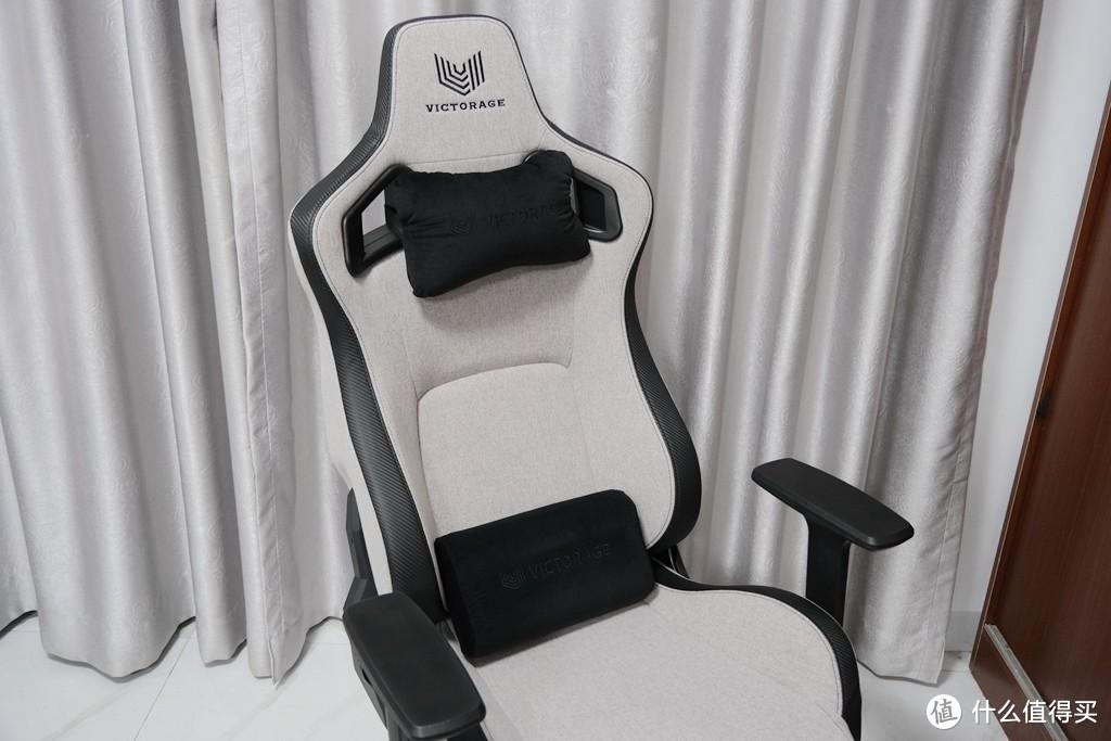 Victorage电竞椅评测:织布设计的电竞椅,彻底告别花里胡哨