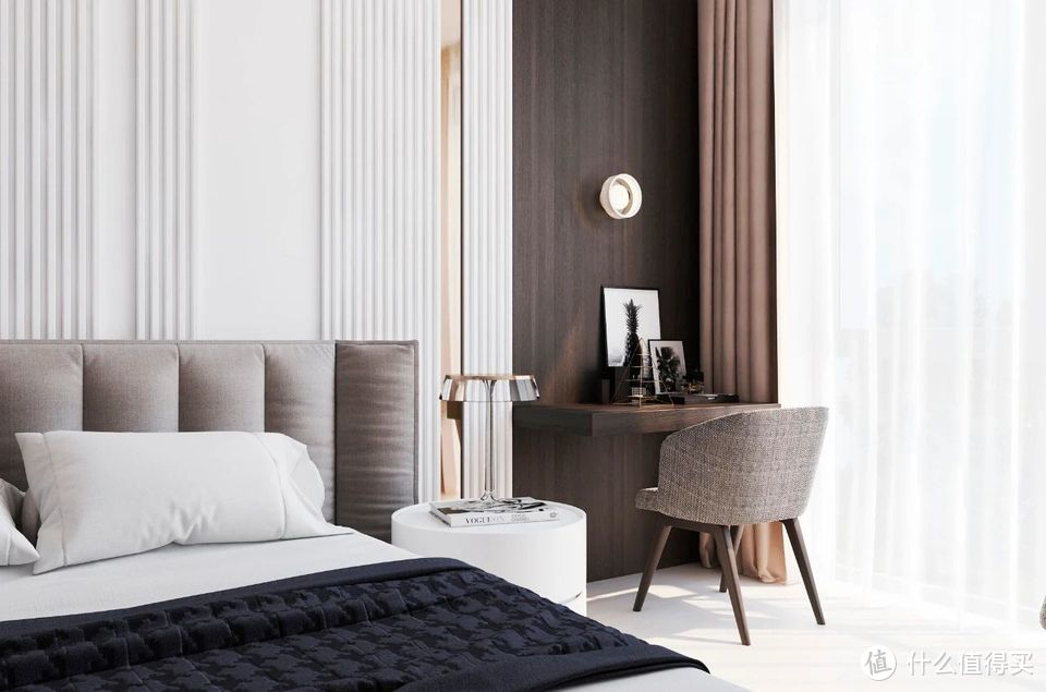 清雅舒适,80平方米小公寓从不单调