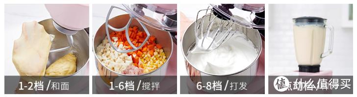 你还在用手揉面吗?8个厨师机的选购攻略,为你解放双手!