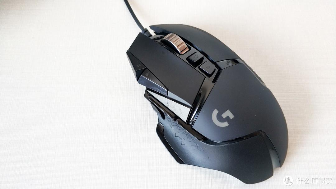 长缨在手,可缚蛟龙,罗技G502 HERO主宰者有线游戏鼠标