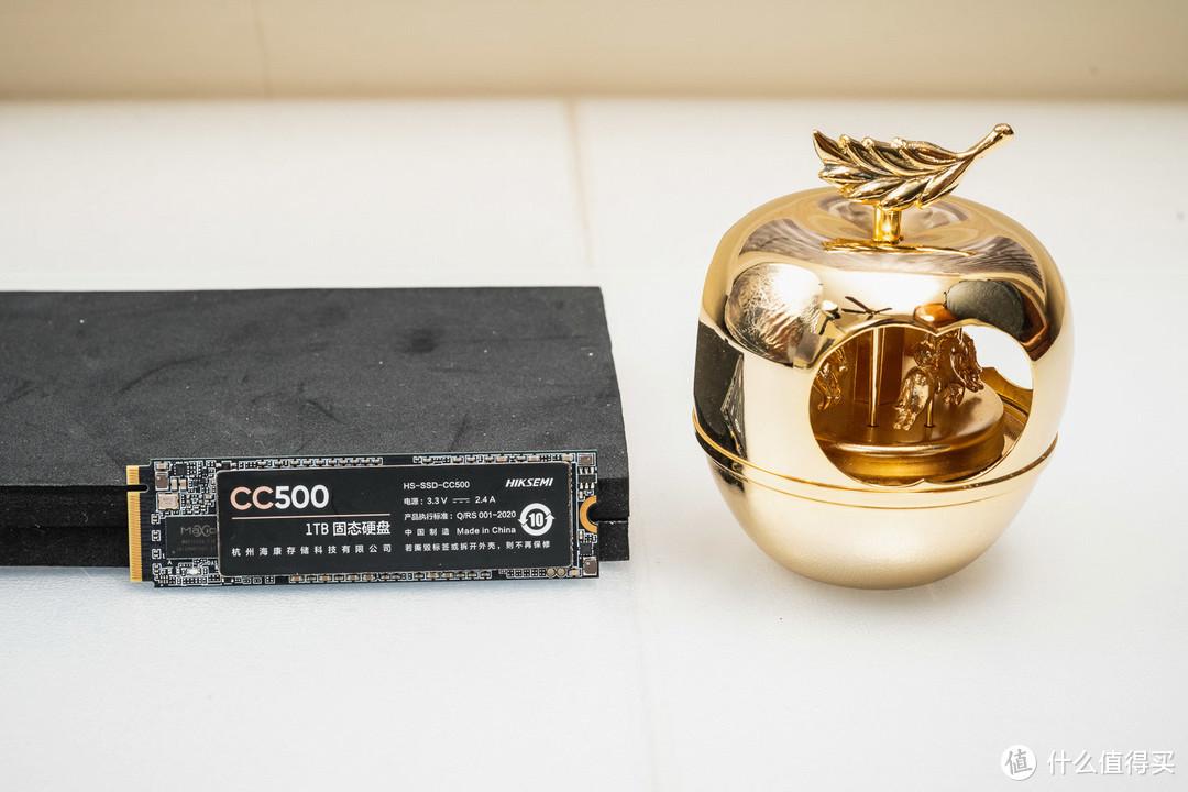 【茶茶】普及大容量NVMe,海康威视CC500 1TB 测试报告