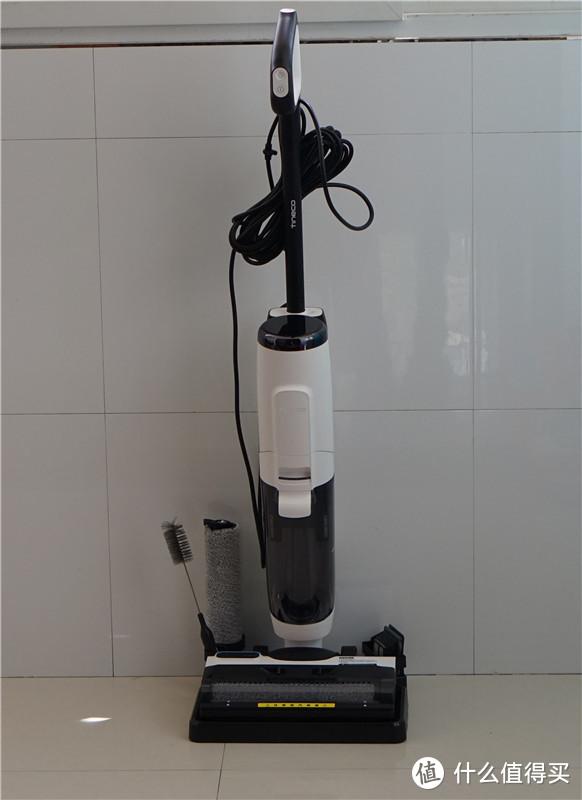 你家的地板真的打扫干净了?吸拖蒸洗一体,添可蒸汽洗地机评测