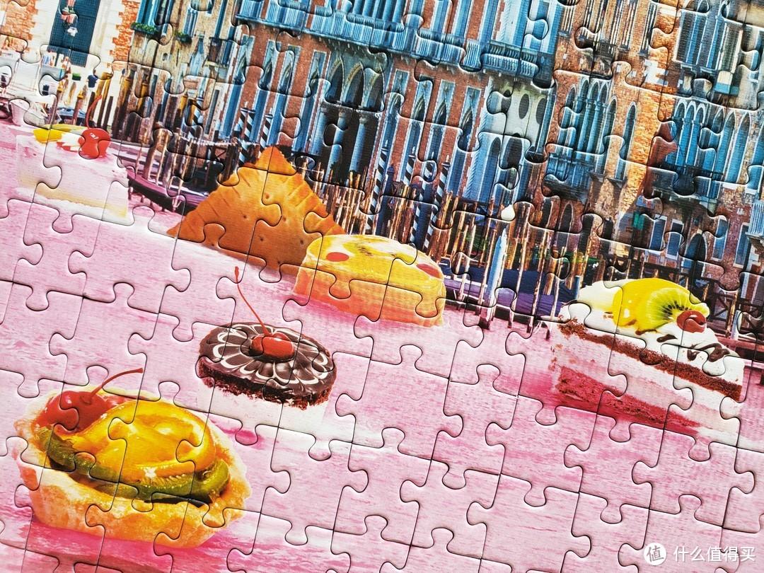 Trefl 看起来很好吃的威尼斯的甜品拼图