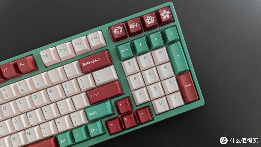 捧一斛红豆,就一壶抹茶,秀口一吐便是一对王炸——AKKO 红豆抹茶 3098键盘·体验分享