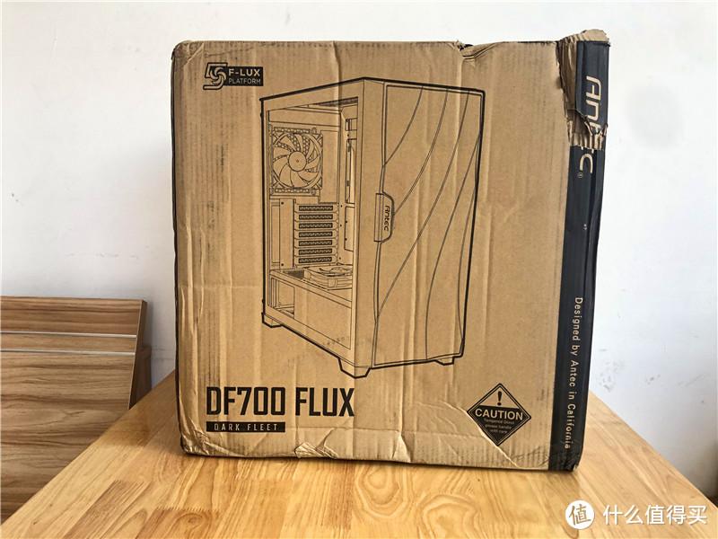 超强散热 绝美颜值-安钛克DF700Flux风行者中塔机箱