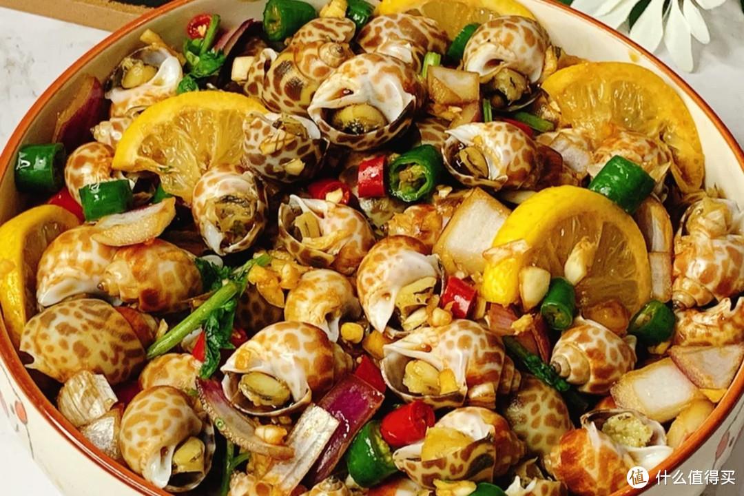 原来花螺这样做,比爆炒、盐焗还美味!鲜辣肉嫩,吮指都不够