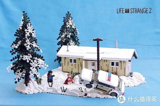 """让""""冰冰""""的乐高雪景,凉爽你的夏季"""