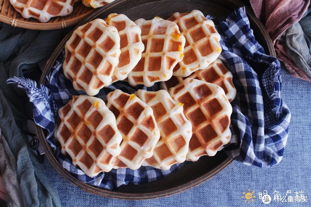 这种华夫饼你吃过吗?软喧香甜低热量,做法超简单!