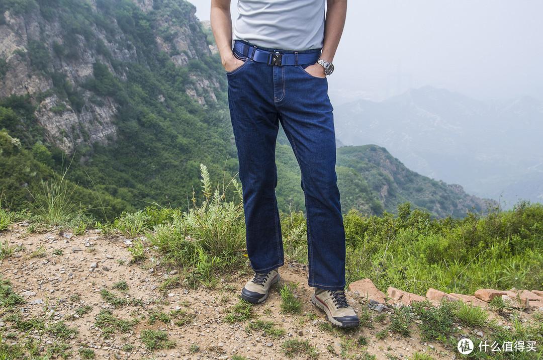 会呼吸的酷,可以养的牛:蒙特罗单导直筒牛仔裤