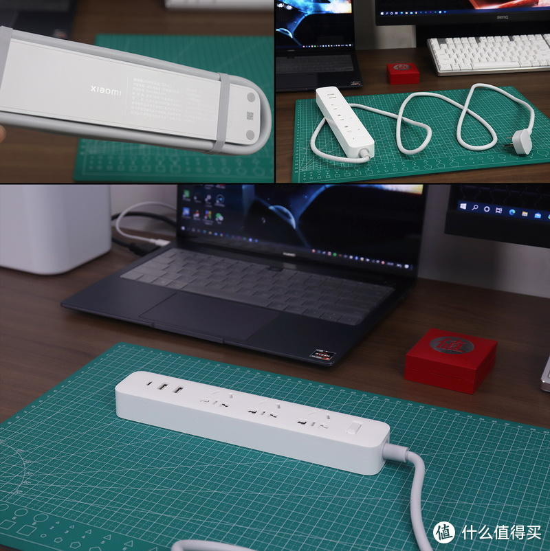 小米插线板20W快充版(2021.7众筹)首发实测,含6年内3款小米USB插线板对比