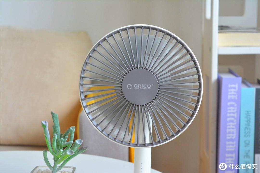 ORICO桌面小风扇:五档位调节,不插电也能用