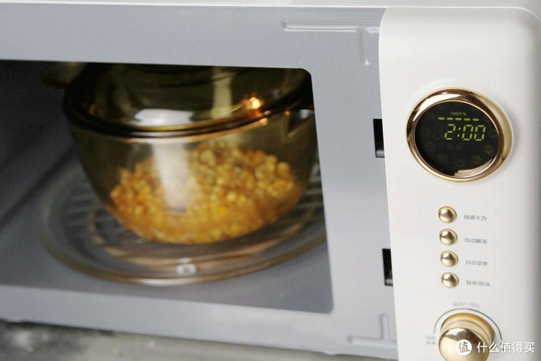 分享一款融合科技的复古微波炉