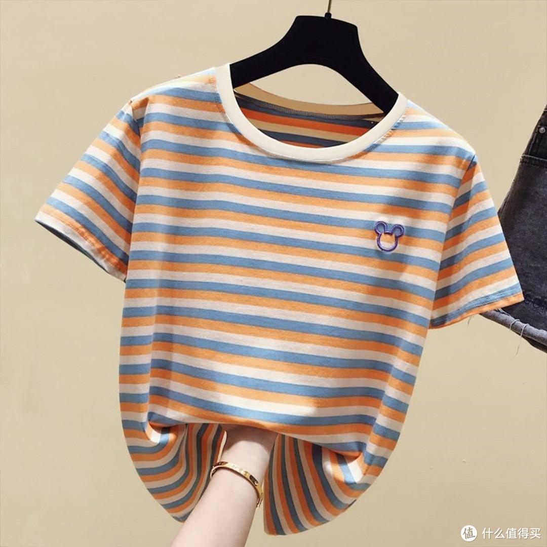 时尚穿搭不过百元,18件T桖满足你整个夏季的衣柜需求 (夏季百搭18款)