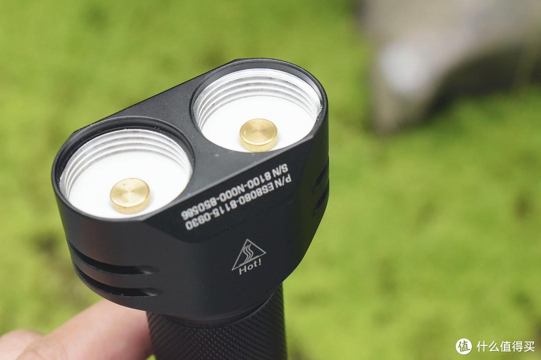 模块化设计,可换灯头!Niwalker耐沃克ES2双头手电赏玩