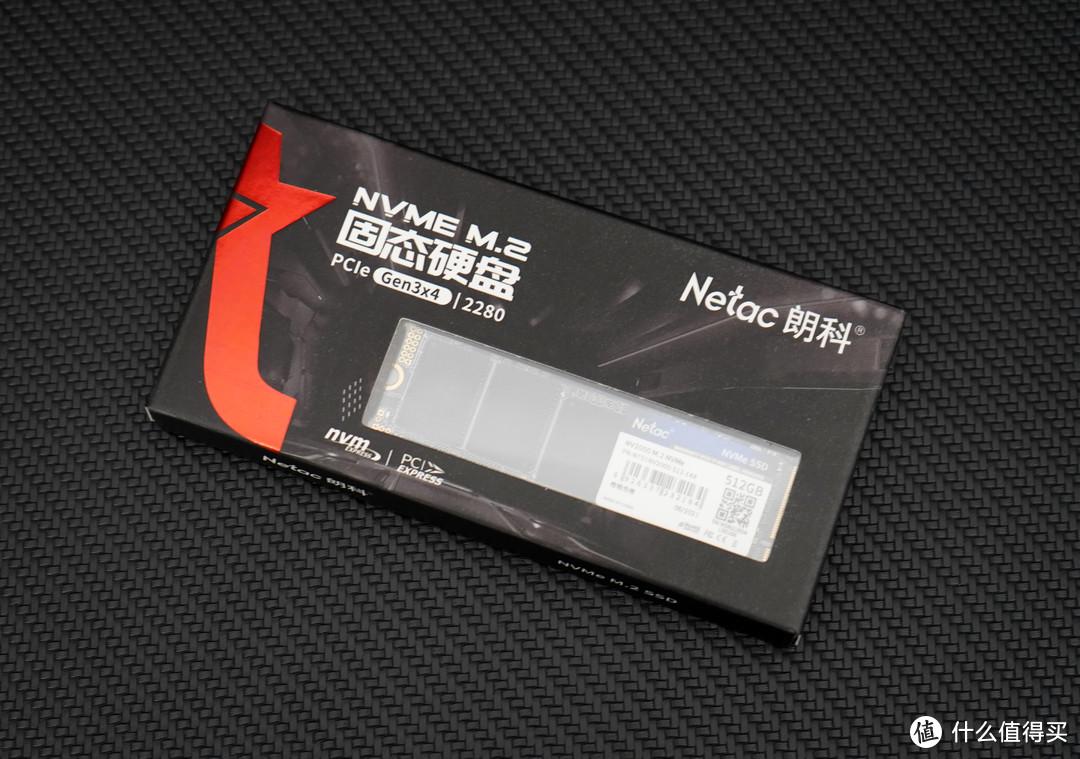 ▲朗科NV2000 NVMe M.2 SSD的外包装