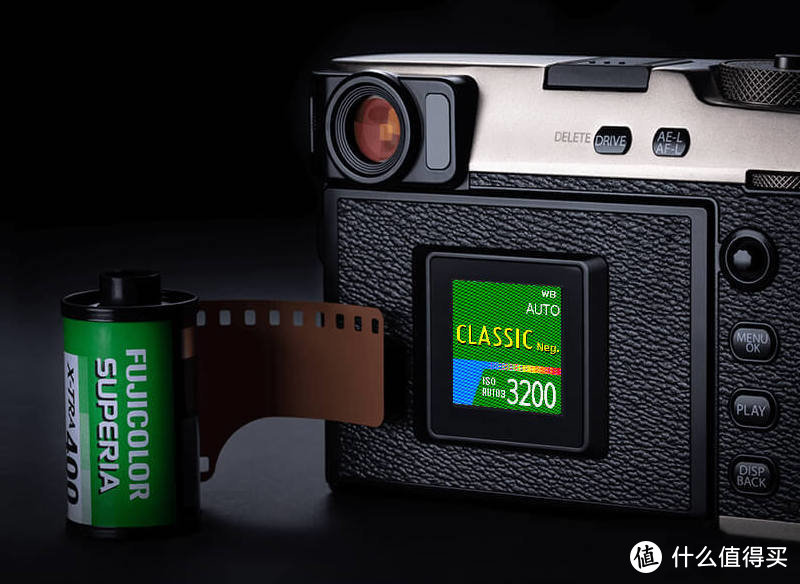 Fujifilm X-Pro3 背屏