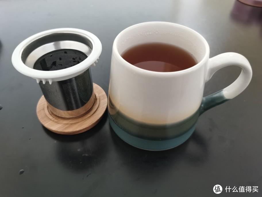 蔚来nio life窑变釉带盖马克杯使用小记