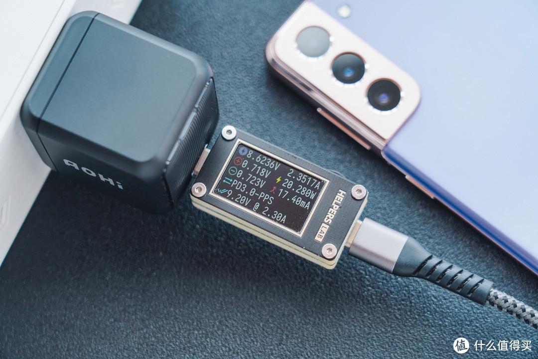 年度重磅:超小的AOHi 65W 氮化镓 PD充电器解析