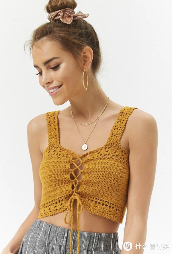 时尚就是一个轮回,没想到钩编居然可以这样穿搭?