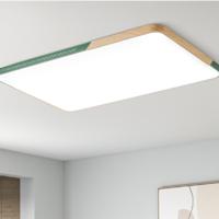 欧普照明客厅卧室房间书房LED吸顶灯具圆形大气温馨北欧TC