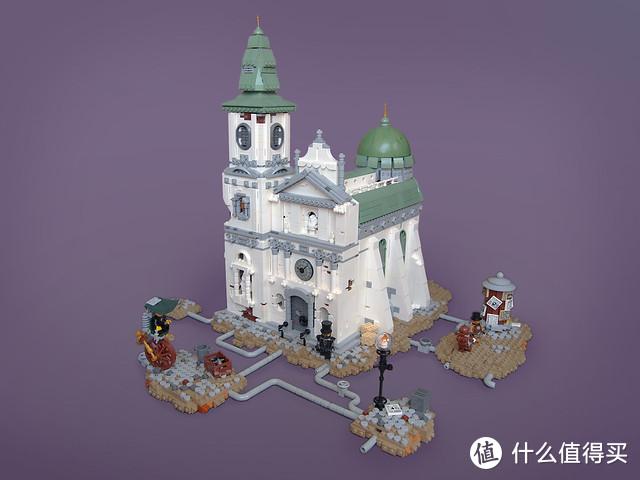 这些精细的教堂MOC,让你一睹其富丽堂皇的风采