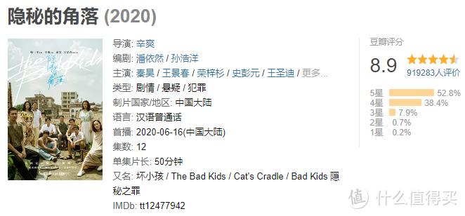 国剧十年(10):2020年,《隐秘的角落》领衔,10年浮沉终成正果