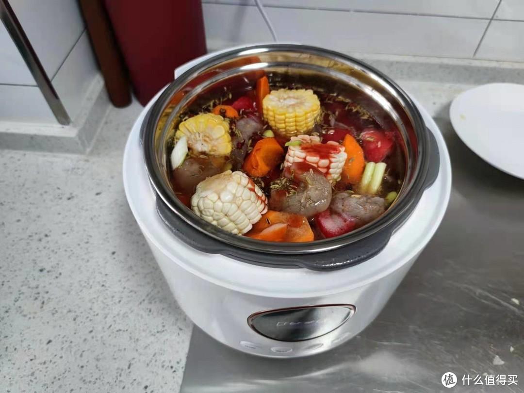 煮粥煮饭炖鸡炖牛肉,很嫩很快很香很入味!大宇电压力锅亲测体验