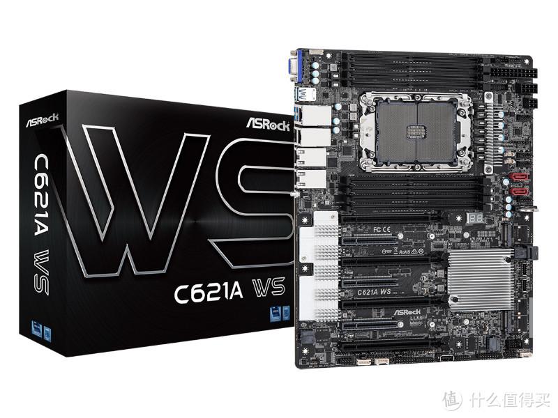 华擎发布 C621A WS 主板,支持最新英特尔W3300系列