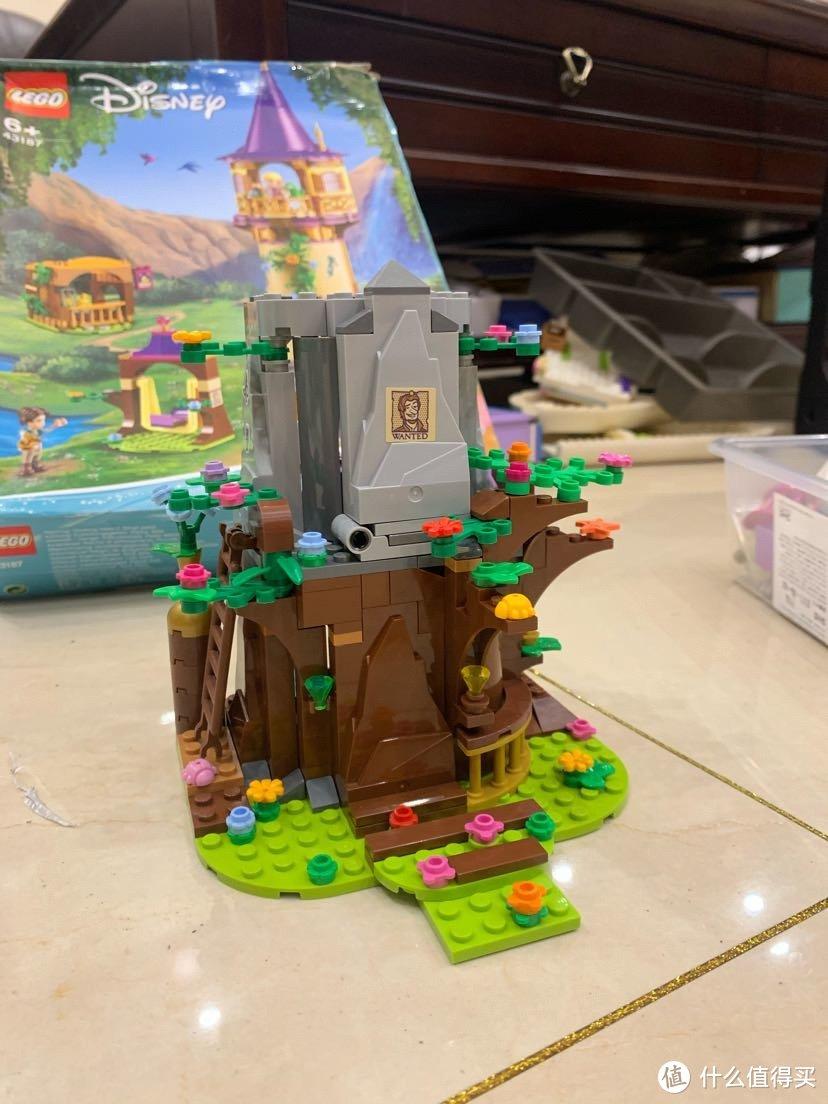 大叔的moc~乐高43187 长发公主的plus塔