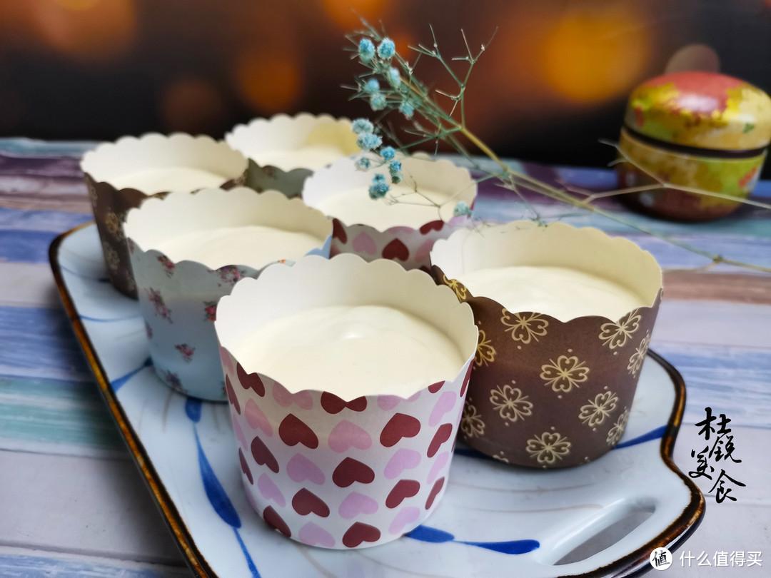 袁姗姗晒杯子蛋糕,也做了1盘,绵软清甜如丝,适合老人孩子吃