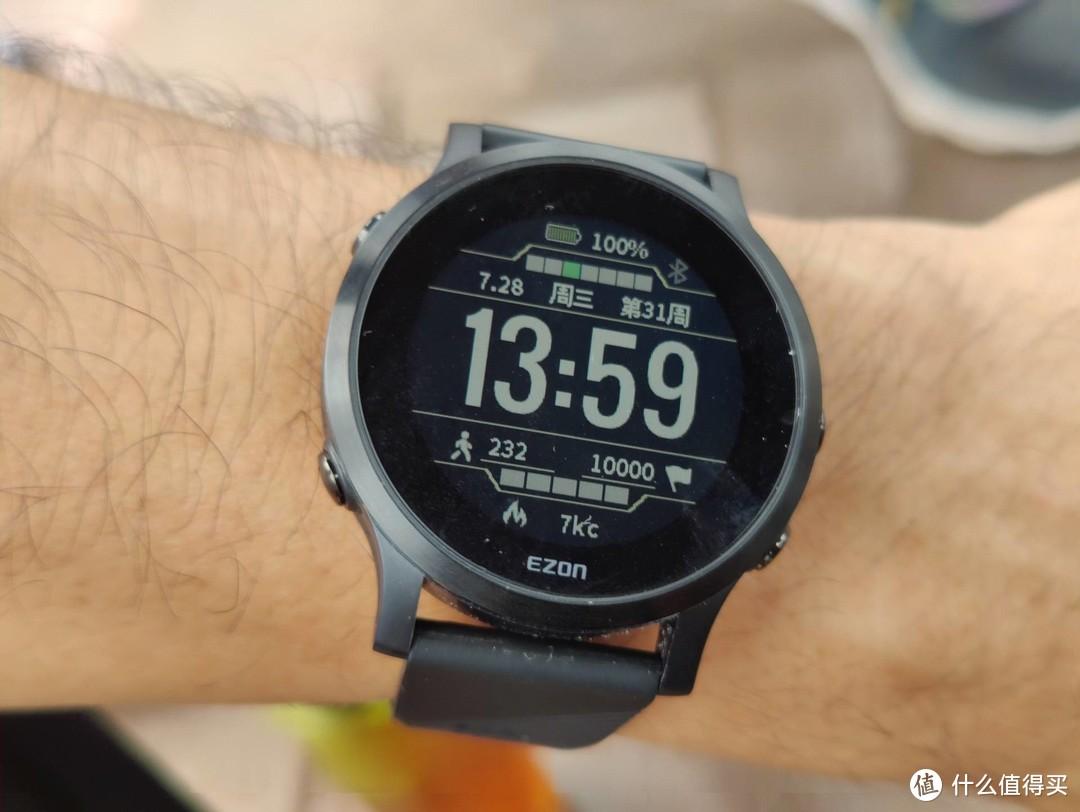 EZON宜准R6运动手表测评:让运动变成一种快乐