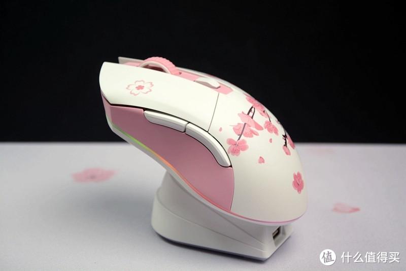 达尔优EM901樱花粉充电套装:牧马人血统、樱花粉配色、RGB灯带、259元