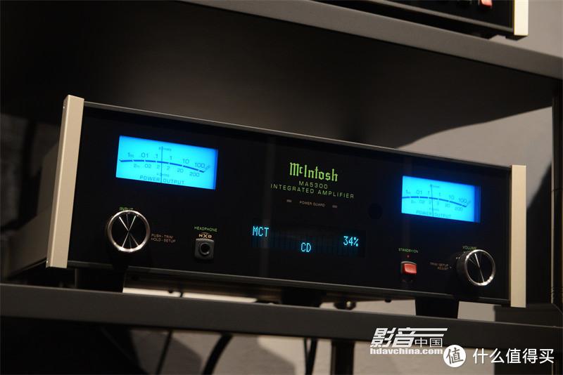 McIntosh MA5300解码合并功放一体机