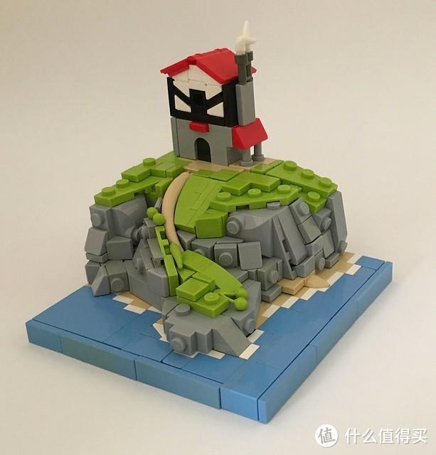 每个人都是一座孤岛——乐高小岛作品欣赏