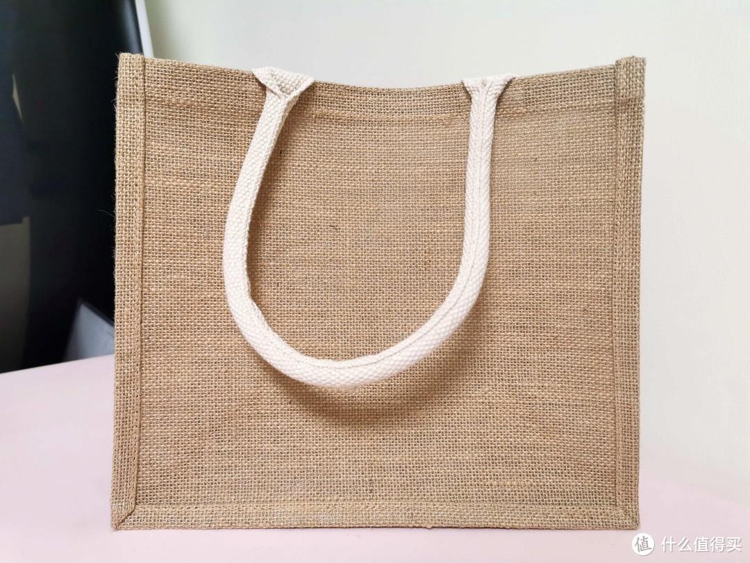 孩子也能做的muji麻袋改造小香包教程