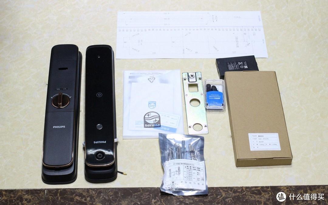主动安防+ 智能猫眼 + 电子门铃三位一体防护——飞利浦DDL702-1HW可视智能锁评测