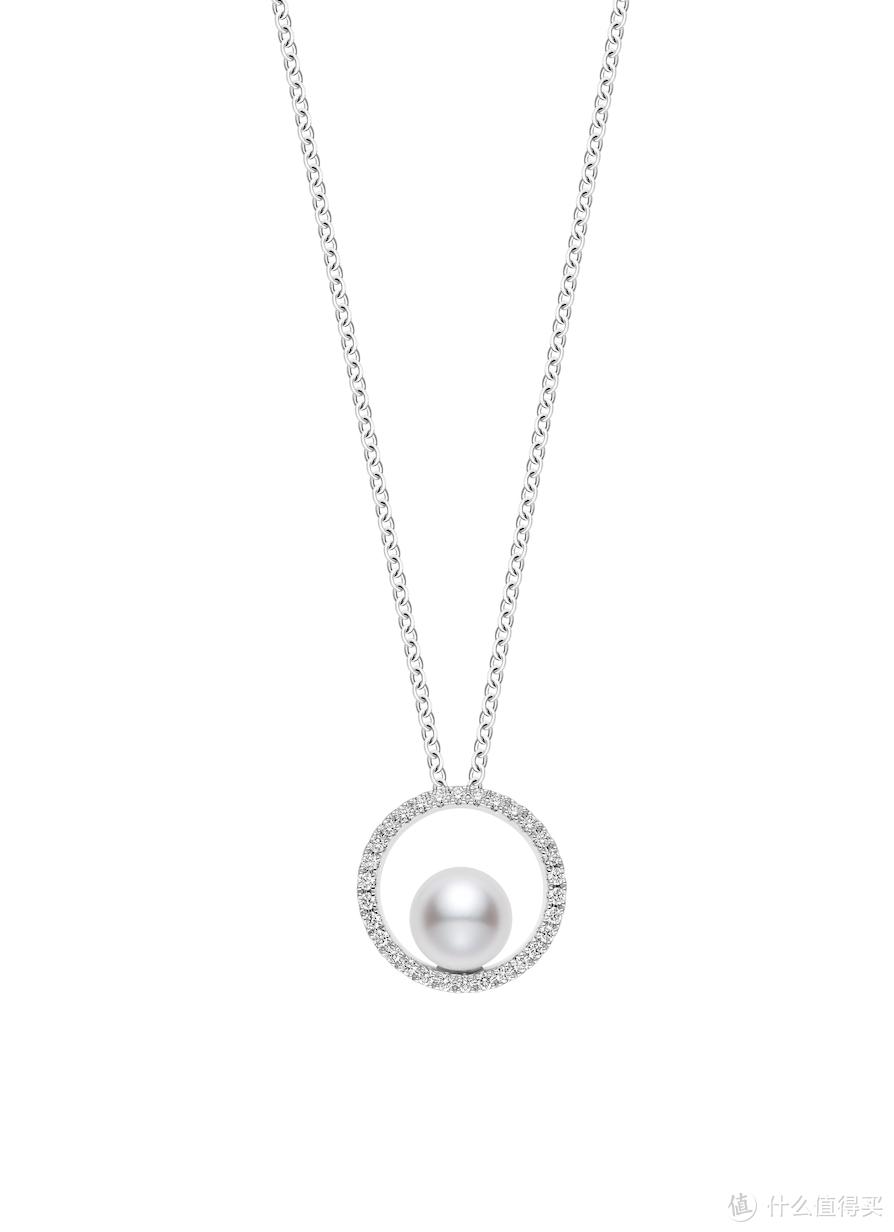 「新品」御木本(MIKIMOTO):Mikimoto Circle Collection以天然成圆的珍珠寄托相思之情