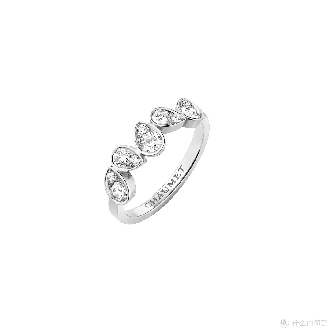 CHAUMET JOSÉPHINE RONDE D'AIGRETTES 白金钻石戒指  ¥34,300(现时参考价)