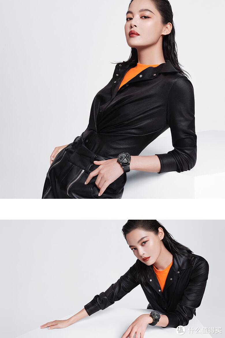 万宝龙品牌大使辛芷蕾演绎全新劲黑系列作品